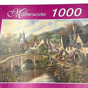 "RoseArt Masterworks ""A cotswold Village"" 1000 Piece Jigsaw Puzzle (19 x 26.75)"
