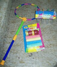 Summer Toy Lot;Outdoor Play/Fun; Popsicle Molds, BIG Bubble Wand, Sidewalk Chalk