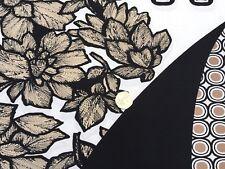 Elastane Printed Jersey 'Algerian Alley' , (1.60 m x 1.60 m piece) Dress Fabric