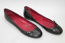 CESARE PACIOTTI women shoes sz 9 Europe 40 black leather S7998
