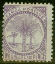 Lightly Hinged Victorian (1840-1901) Samoan Stamps (Pre-1962)