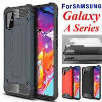 For Samsung Galaxy A71 A51 A50s A30s A70s A20s A20e A90 5G Hard Armor Case Cover