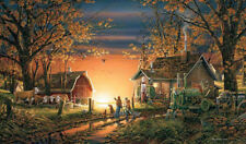 """TERRY REDLIN  """"Morning Surprise"""" 32"""" X 18.5""""  SIGNED and Numbered Print"""