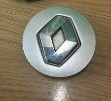 Renault  alloy wheel centre center cap 58mm genuine chrome logo