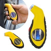 LCD Digital Tire Tyre Air Pressure Gauge Tester Tool For Auto Car Motorcy Best