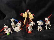 Disney 101 Dalmatians Christmas Ornament Set Cruella De Vil