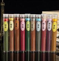 50x Natural Stick Weihrauchbrenner Aroma Vanille Sandelholz Rose Lufterfrischer.
