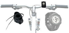 Black Bicycle Handlebar Mount for Garmin Approach S1 / S3 Watch w/ Cable Ties