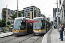 PHOTO  2009 DUBLIN LUAS TRAMS AT TALLACHT TERMINUS. THIS IS THE OUTER TERMINUS O