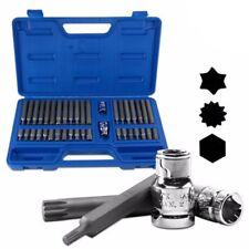 Star Driver Bit Socket Spline Drive Hex Torx Tool Set for Power Drill or Wrench