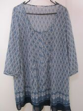 BEAUTIFUL LIGHT WEIGHT SHEER ,BUTTON UP TOP BY TARGET, SIZE 18