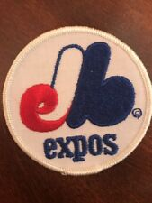 """Montreal Expos logo embroidered Sew on patch vintage 3"""""""