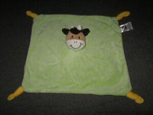 Dormia Aldi Kuh Giraffe grün gelb Schnuffeltuch Schmusetuch Kuscheltuch # 1
