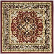 Safavieh Lyndhurst Traditional Oriental Red/ Black Area Rug (6u0027 X  6u0027 Square