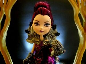 Monster High Ever After Raven Queen Thronecoming ( Rare )  By Mattel