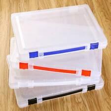 File Box Office Storage Box Holder Thick Finishing Desktop Stationery S3