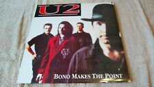 U2 Bono Makes The Point - Rare Promo Vinyl  LP Mint Condition