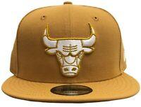 New Era NBA Chicago Bulls Custom Snapback Tan