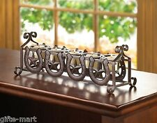 rustic country western cowboy long table centerpiece CANDELABRA Candle holder