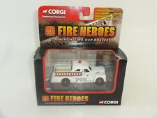 Corgi Fire Heroes 1951 Seagrave 70th Anniversary White Pumper CS90056 Year 2002
