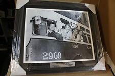 "JACKIE GLEASON "" THE HONEYMOONERS"" FRAMED 16X20 B/W PHOTO 1955-56 FRAMED"
