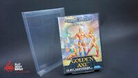 Golden Axe Pour Sega Mega Lecteur Complet En Boîte Rapide