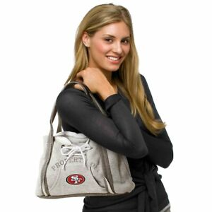 San Francisco 49ers Purse Hoodie Handbag NFL Ladies Embroidered Logo