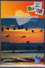 2010 COLLECTOR DE 10 TIMBRES ANCIENNE RÉGION CHAMPAGNE - ARDENNES EDITION LIMITE