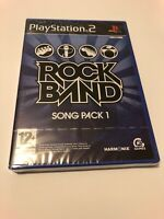 😍 jeu playstation 2 ps2 neuf sous blister officiel pal fr rock band song pack 1