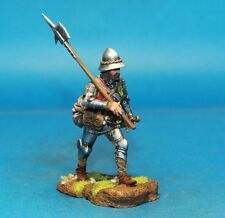 Medieval infantry Elite HAND PAINTED, Tin toy soldiers, Metal 54mm