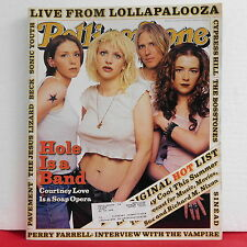 Hole ROLLING STONE Magazine Issue 715 Courtney Love Perry Farrell August 24 1995