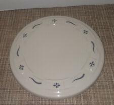 Longaberger Pottery Coaster/Trivet in Classic Blue Excellent Condition