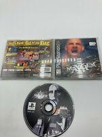 Sony PlayStation 1 PS1 CIB Complete Tested WCW Mayhem Ships Fast