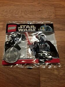 Lego Star Wars Polybag Chrome Darth Vader