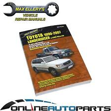 Workshop Repair Manual Landcruiser Petrol 1990-2007 70 80 100 Series Toyota Book