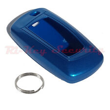 FOB Shell Cover For BMW Smart Key Remote Hard Shell Case Stove Varnish Skin Blue