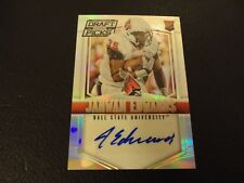 2015 Collegiate Draft Picks Jahwan Edwards Rookie Prizm Auto Ball State