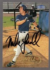 MIKE LOWELL Autographed SIGNED NY Yankees Fleer Tradition ROOKIE CARD #558 wCOA