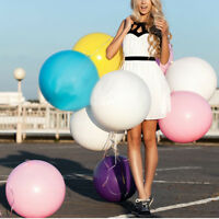 36 Inch Balloon Ball Big Latex Balloon DIY For Happy Birthday Party Decoration@
