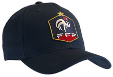 World Cup French Federation Football Cap Dark Blue Hat France FFF 100% Cotton