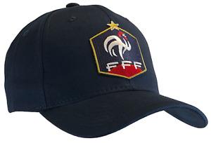 World Cup French Federation Football Cap Dark Blue Hat France FFF 100% Cotton