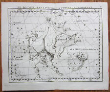 Flamsteed Astronomy Original Celestial Map Bootes Hair of Berenice - 1776