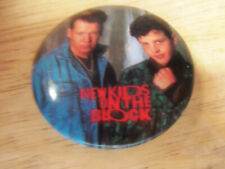 Vintage Original Collectable New Kids on the Block Pin Back Button