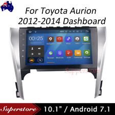 "10.1"" Quad Core Android 7.1 Car GPS Nav Head Unit For Toyota aurion 2012-2014"