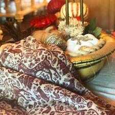 IBENA Medieval Cotton Blend Jacquard Woven Blanket Throw Sölden