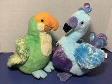 Webkinz Blufadoodle & Parakeet Plush Bundle No Code Ganz Birds Stuffed Animals