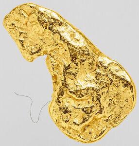 0.3410 Gram Alaska Natural Gold Nugget  ---  (#63455) - Alaskan Gold Nugget