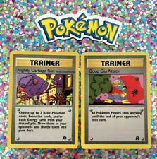 New Listing�� Classic Team Rocket Pokemon Original English Set 1st Gen WotC Cards Old �