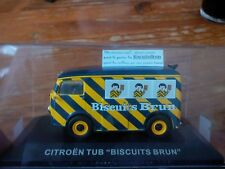 CITROEN TUB TUBE Biscuits Brun CAMION CAMIONNETTE utilitaire 1/43 BOITE france