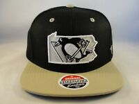 Pittsburgh Penguins NHL Zephyr Snapback Cap Hat Statement